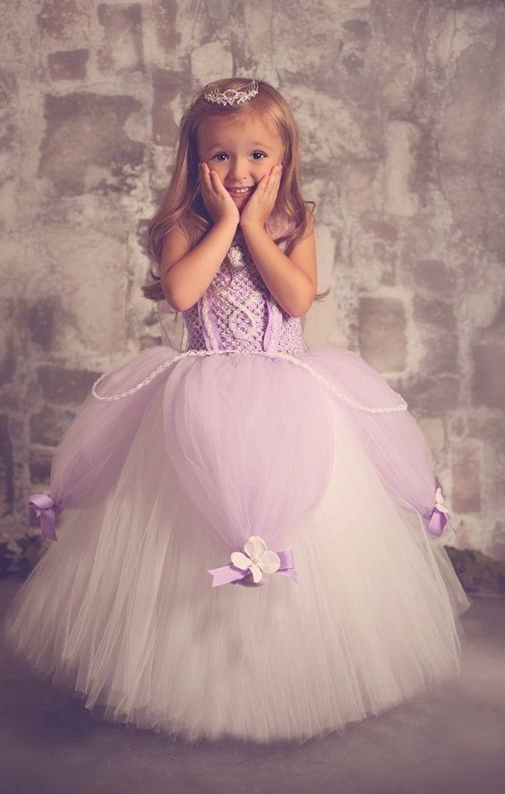 bolo princesa sofia - festa princesa sofia - vestido princesa sofia