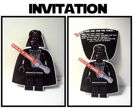bolo star wars - convite star wars 2