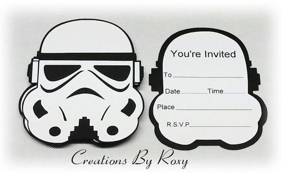 bolo star wars - convite star wars