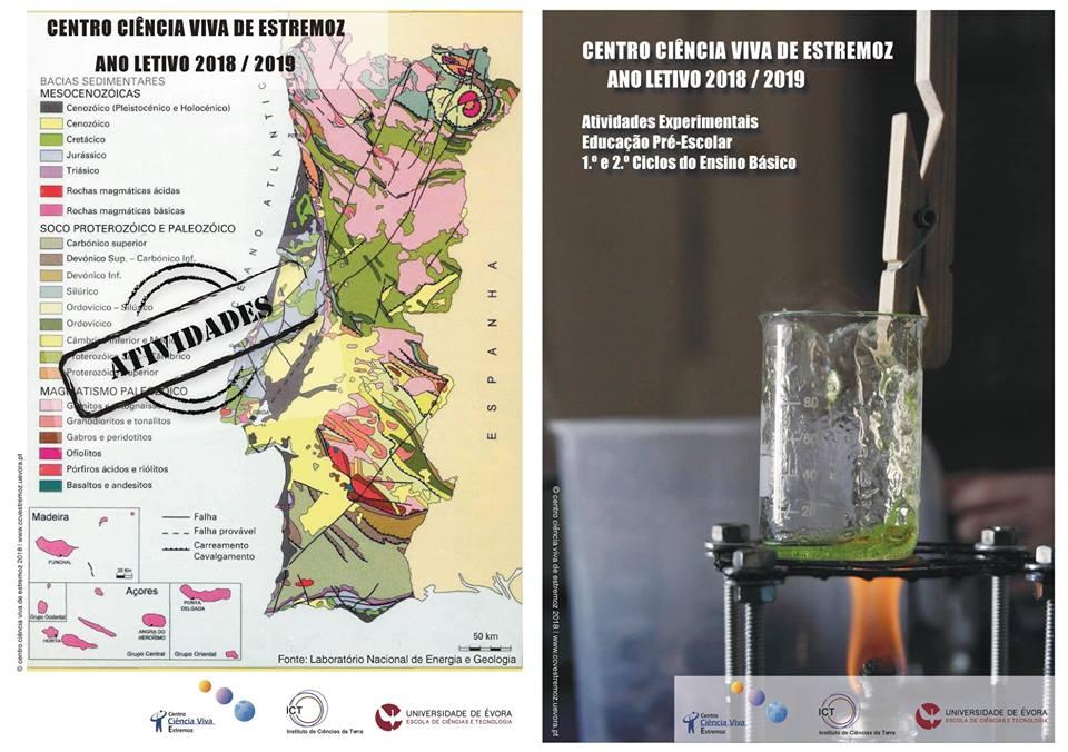 Oferta Educativa do Centro Ciência Viva de Estremoz – 2018/2018.