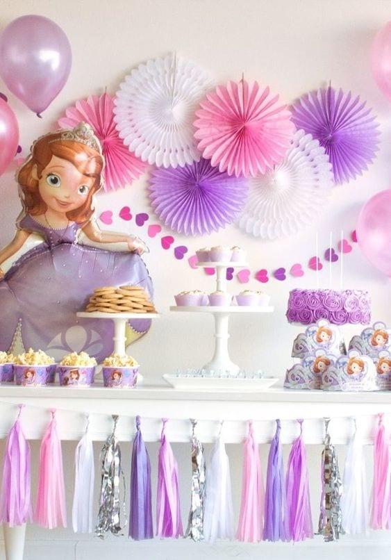 festa-da-princesa-sofia- decoração