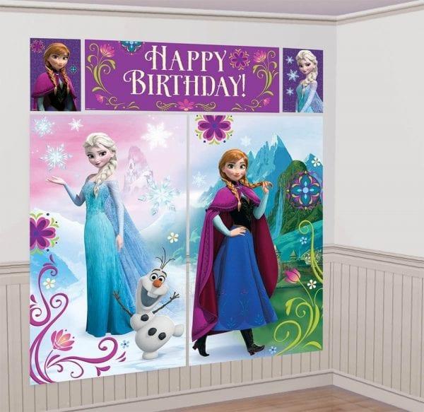 festa de aniversário frozen - decoração frozen