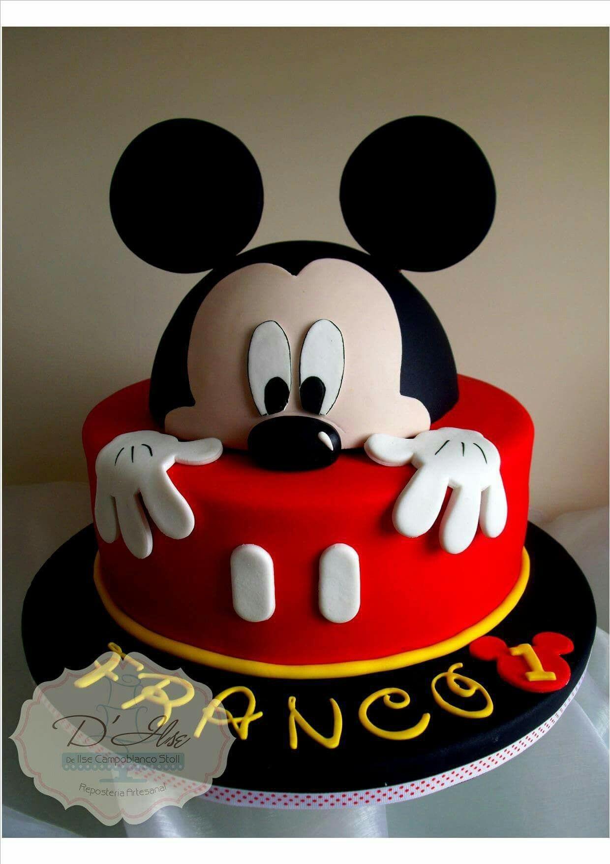 festa do mickey - bolo do mickey2