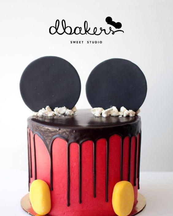 festa do mickey - bolo do mickey3