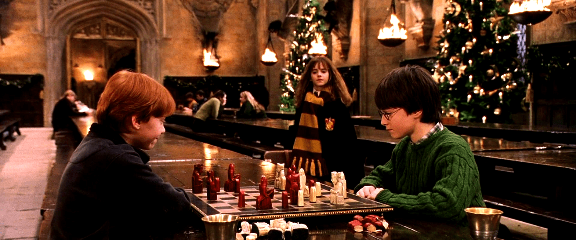 harry potter natal
