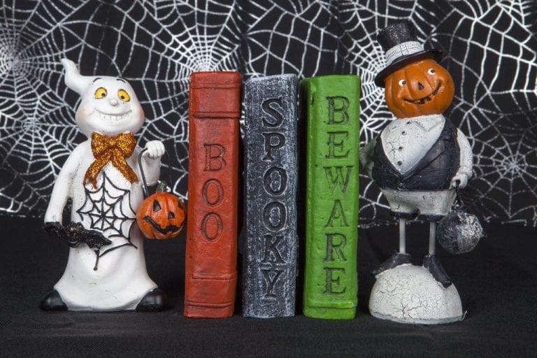 livros halloween