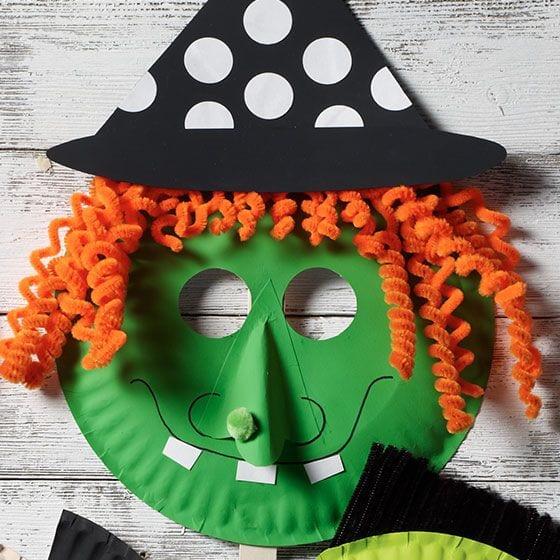 máscaras de halloween - bruxa