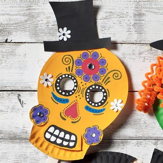 máscaras de halloween - caveira