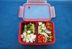 receitas para marmita - salada grega