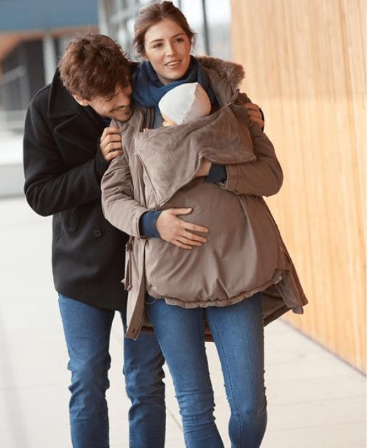 roupa de amamentação - casacos (Verbaudet)