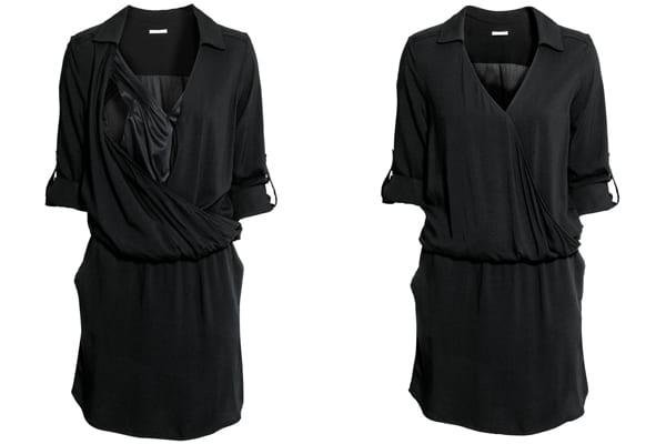 roupa de amamentação - vestido hm