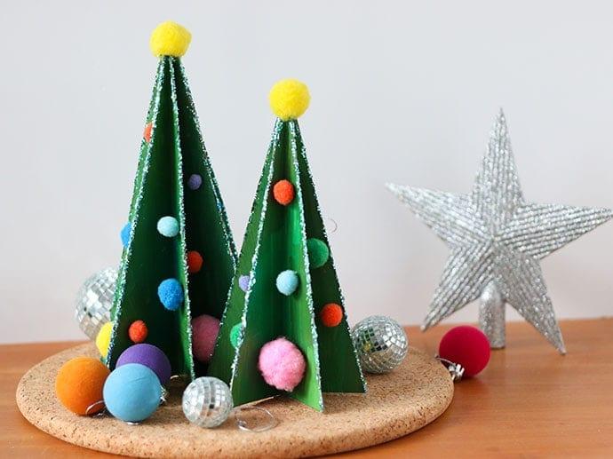 árvore de natal caixas