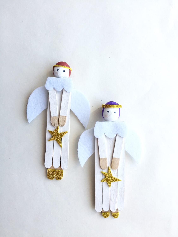 anjinhos de madeira
