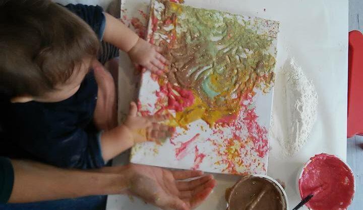 Pinturas para Bebés e Crianças – Tintas de Legumes Caseiras e Comestíveis