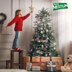 árvore de natal nestum