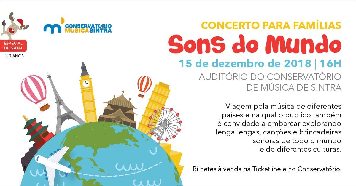 Concerto para Famílias: Sons do Mundo