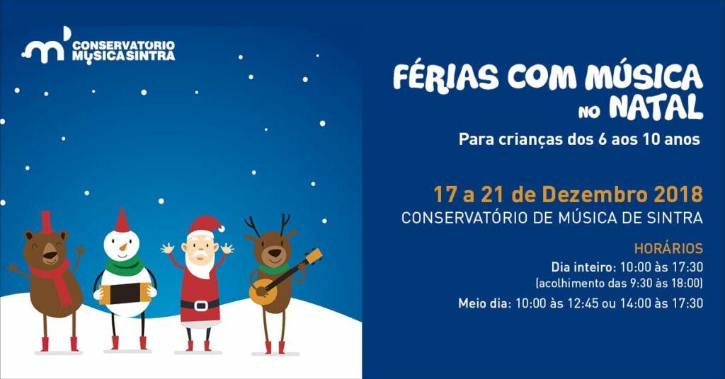 Férias de Natal no Conservatório de Sintra