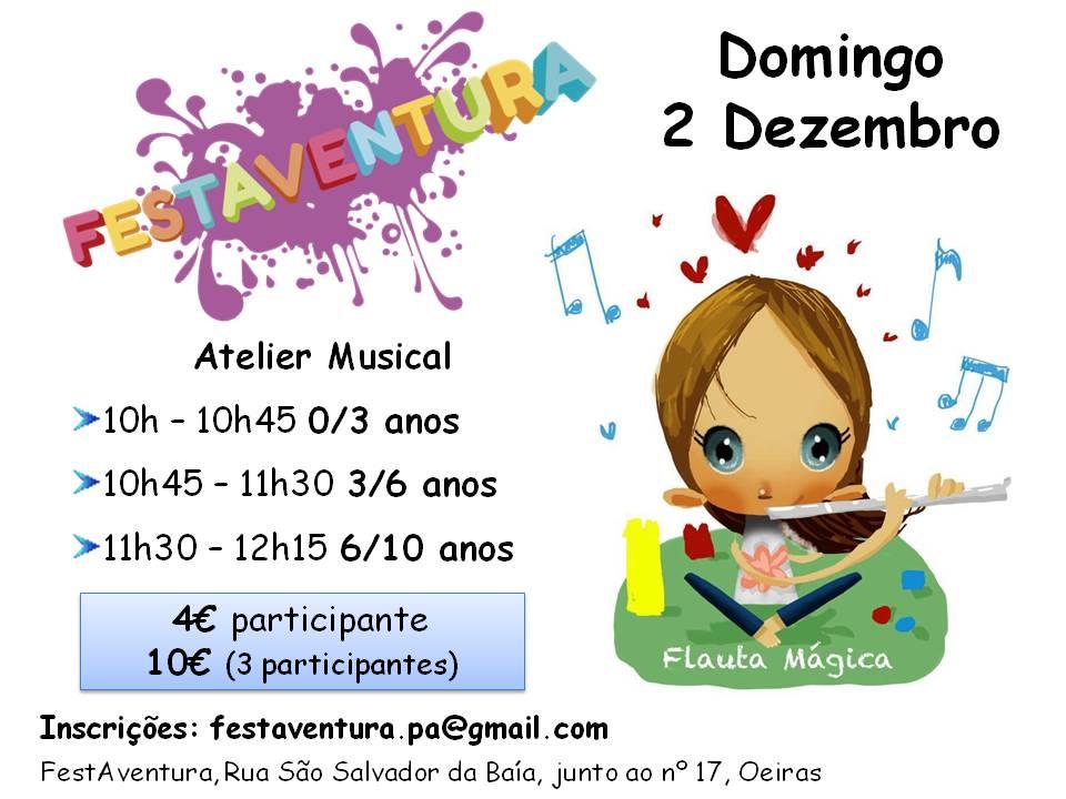 Atelier Musical para Famílias
