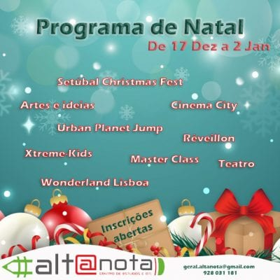 Programa para as férias do Natal