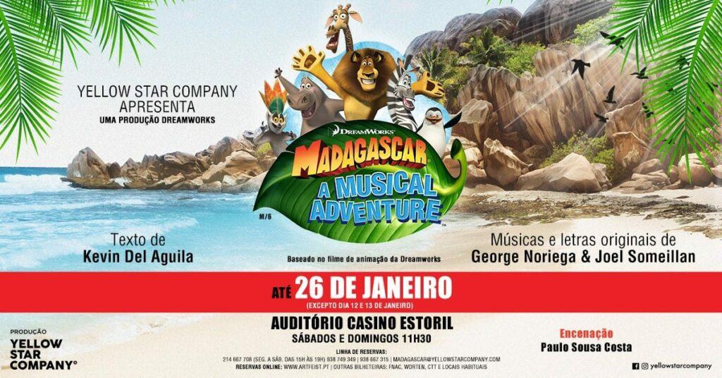 MADAGÁSCAR - UMA AVENTURA MUSICAL