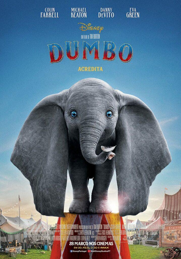 Filme dumbo - poster