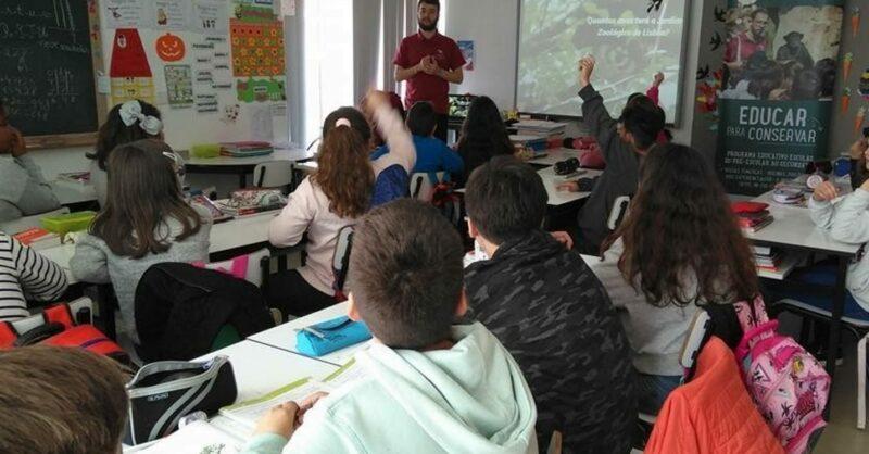 Clube Zoo: Aprende e cuida dos animais e ambiente