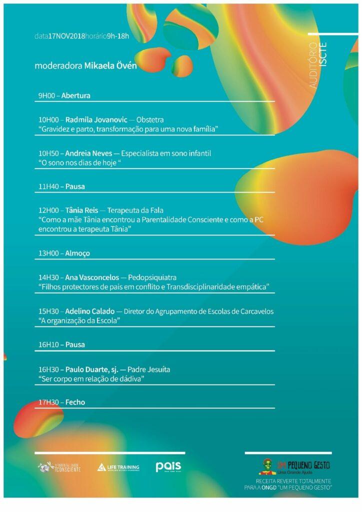 Programa Congresso Parentalidade Consciente