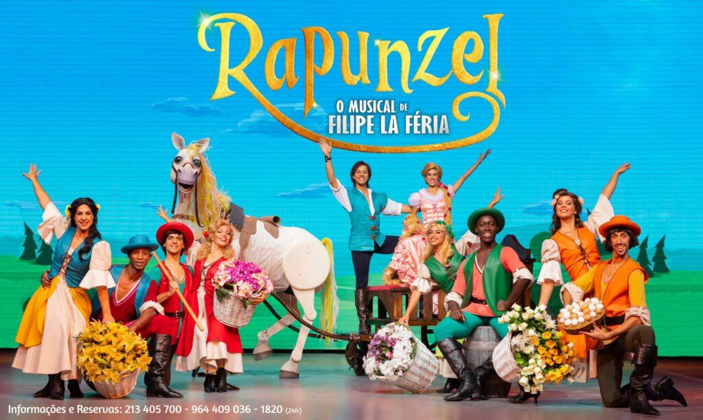 Rapunzel de Filipe La Feria - Teatro infantil em Lisboa