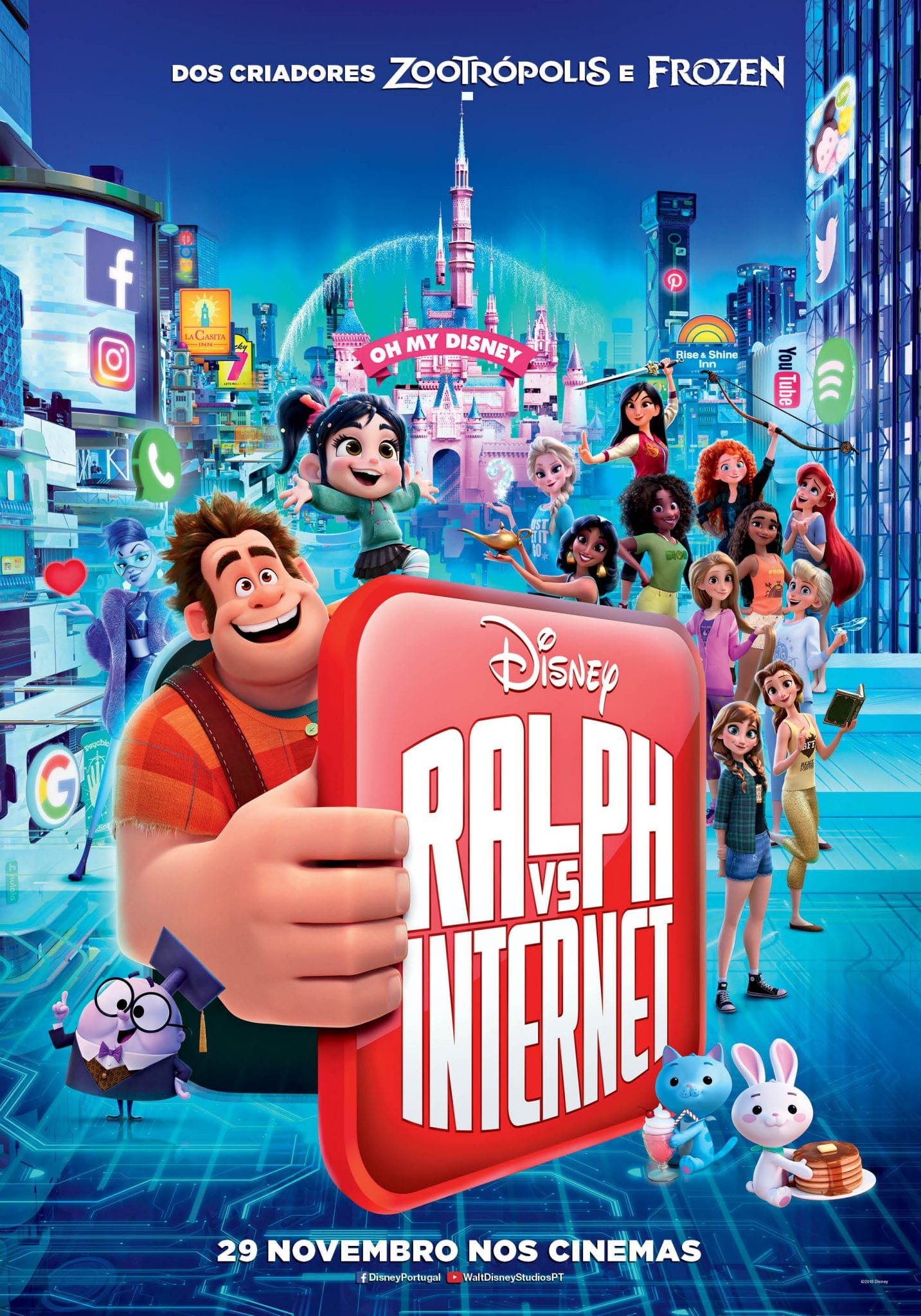Passatempo Filme Ralph vs Internet