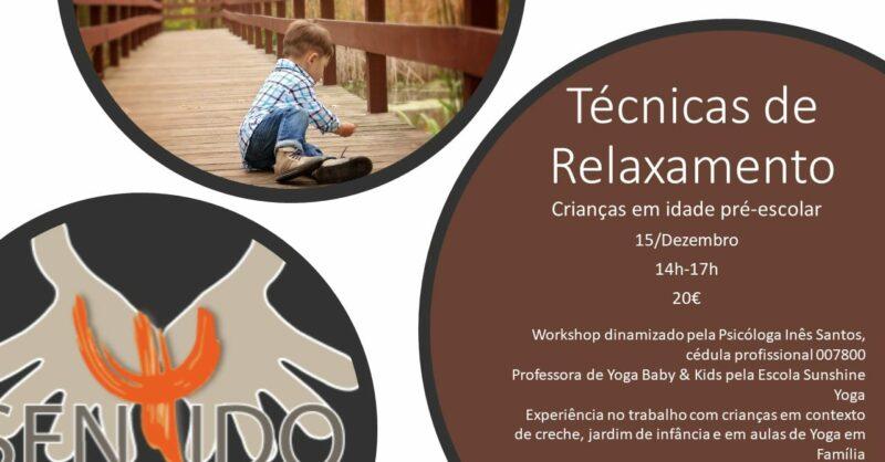 Workshop – Técnicas de Relaxamento