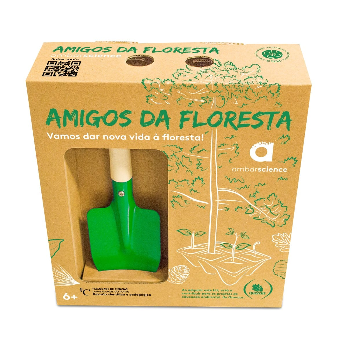 kit amigos da floresta