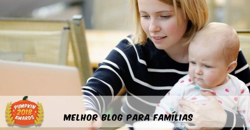 Pumpkin Awards 2018 – Os Melhores Blogs Para Famílias
