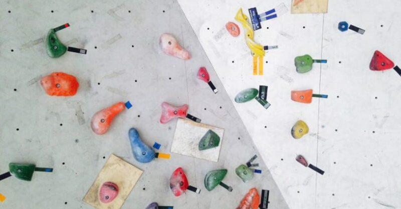 escalada e desporto indoor