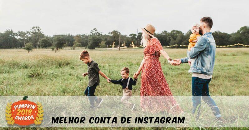 Pumpkin Awards 2018 – As Melhores Páginas de Instagram Para Famílias