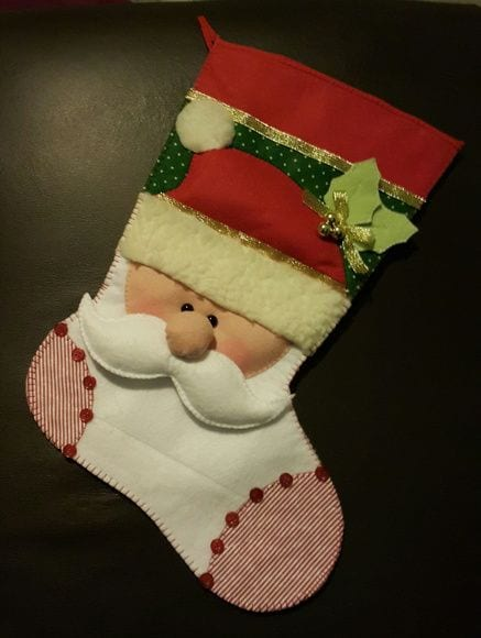 meia de natal - foto pinterest - 2