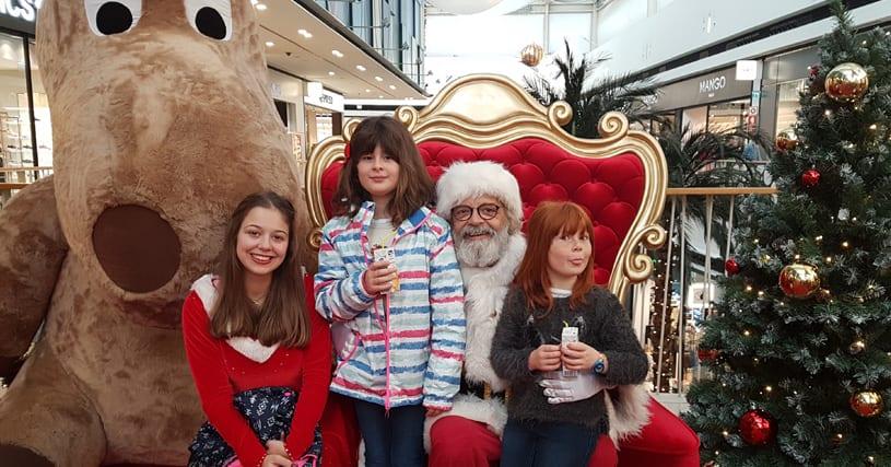 Onde está o Pai Natal?