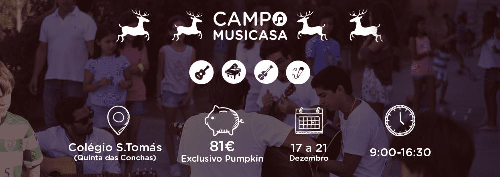 Campo Musicasa de Natal 2018: Umas férias incríveis e ainda aprendes música.