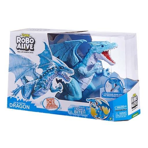 robot alive dragão