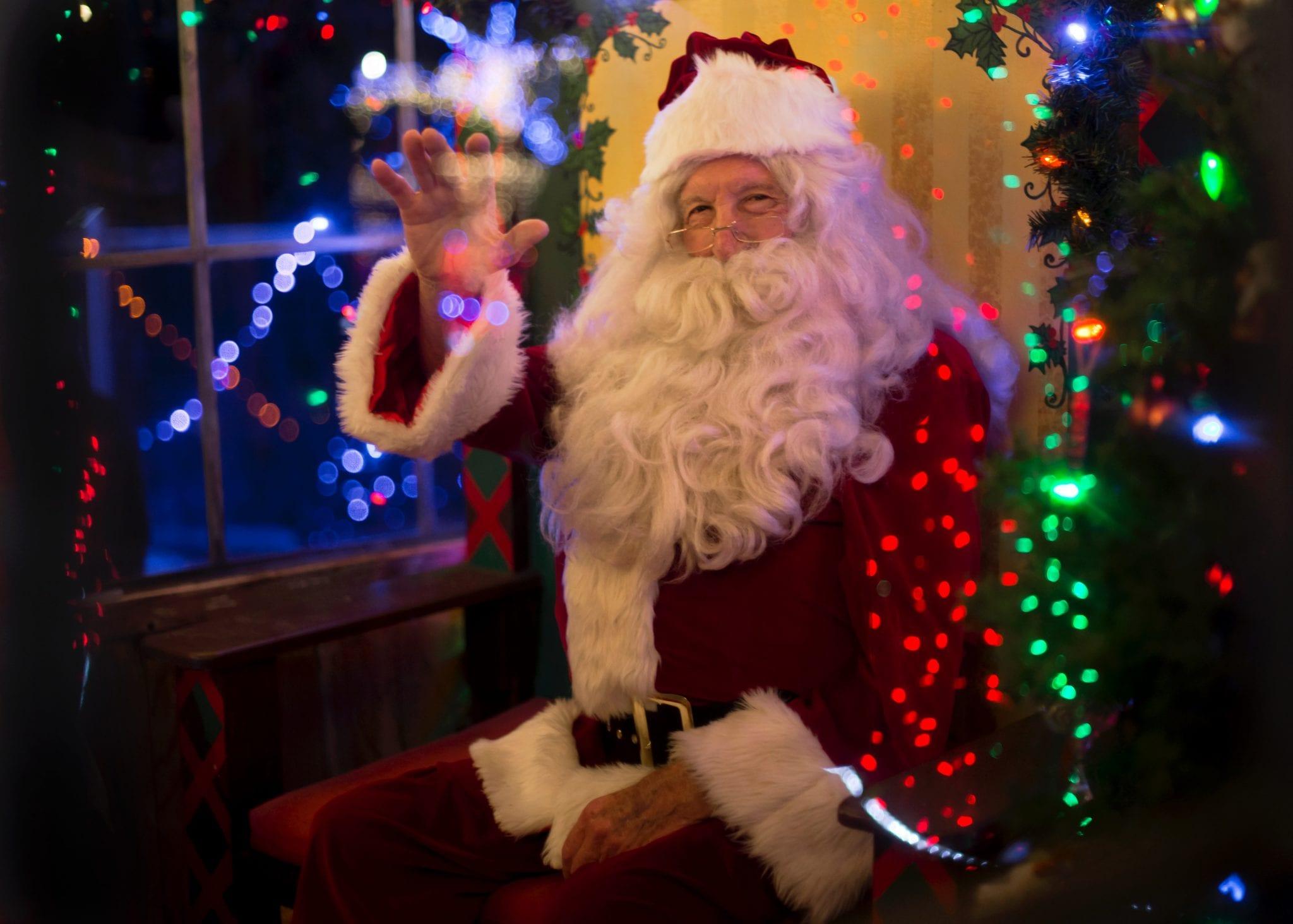 Por onde anda o Pai Natal?