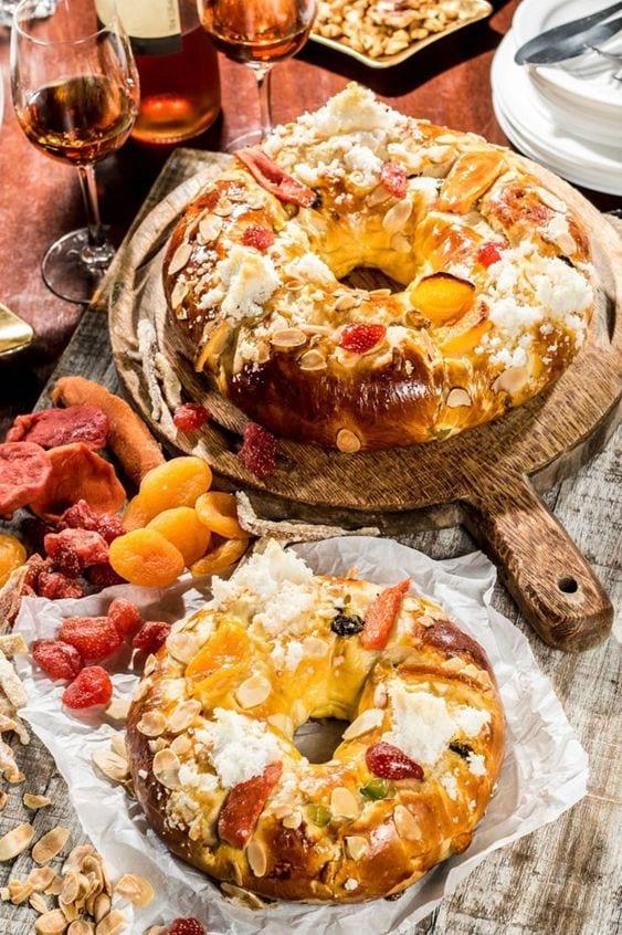 tradições de natal em portugal - foto pinterest - bolo rei