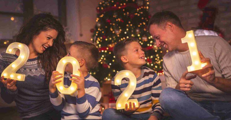 programas de ano novo em família