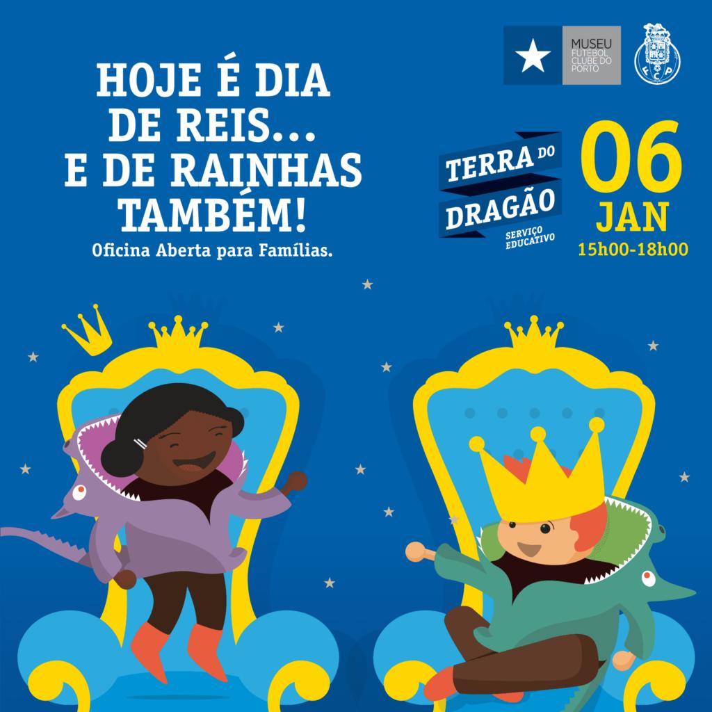 Hoje é Dia de Reis… e de Rainhas também! – Oficina Aberta (p/Famílias)