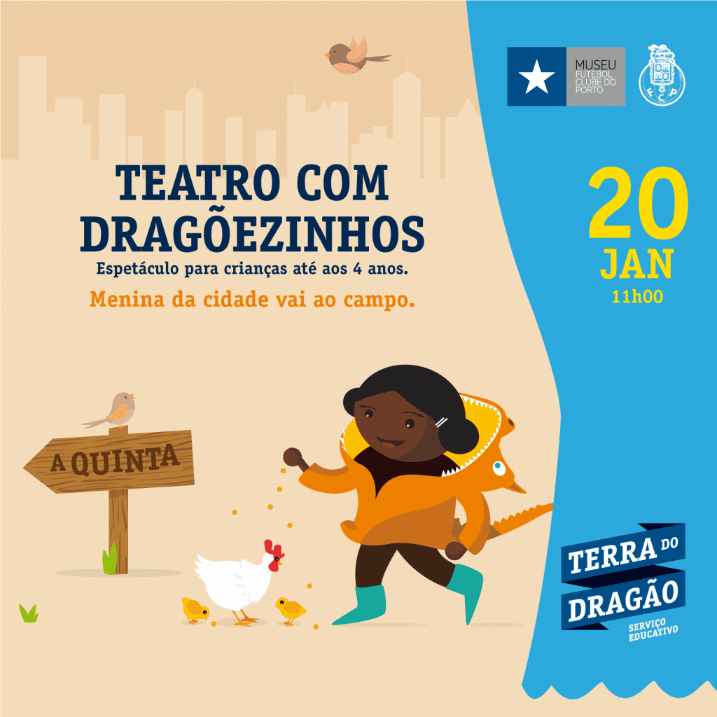 """Teatro com Dragõezinhos – """"A Quinta"""""""