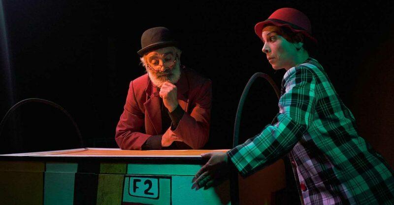 Teatro de Marionetas ACHIMPA no Lua Cheia