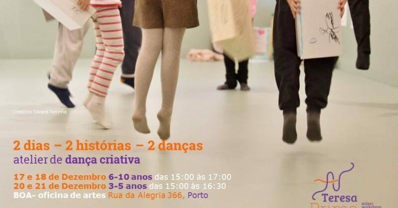 Atelier de dança criativa com Teresa Prima