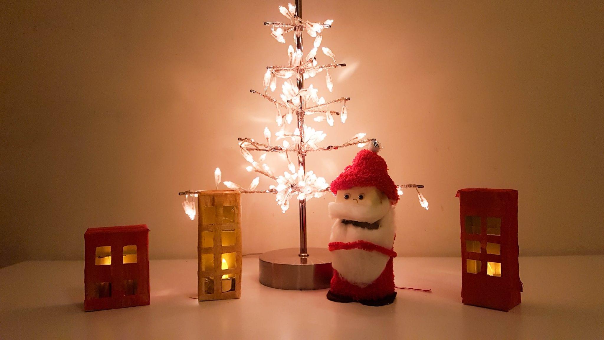 Enfeites de Natal com material reciclado Capa