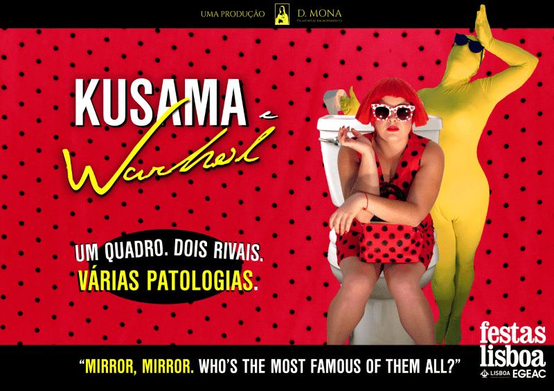 KUSAMA E WARHOL