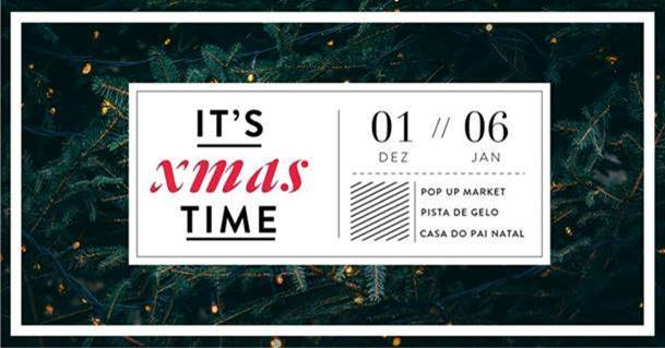 Pai Natal, Pista de Gelo e Pop-up Market no Alameda Shop & Spot