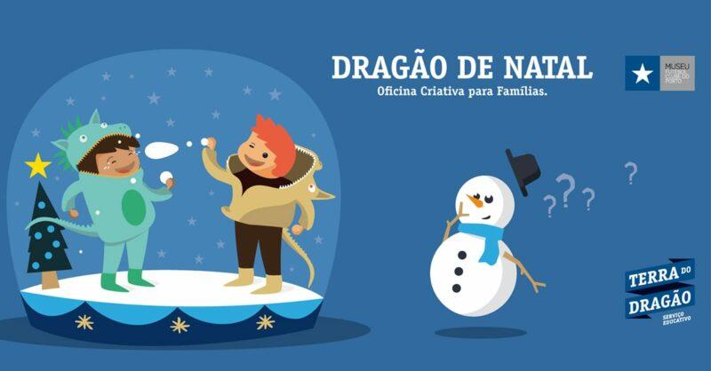 Oficina Criativa para Famílias: Dragão de Natal
