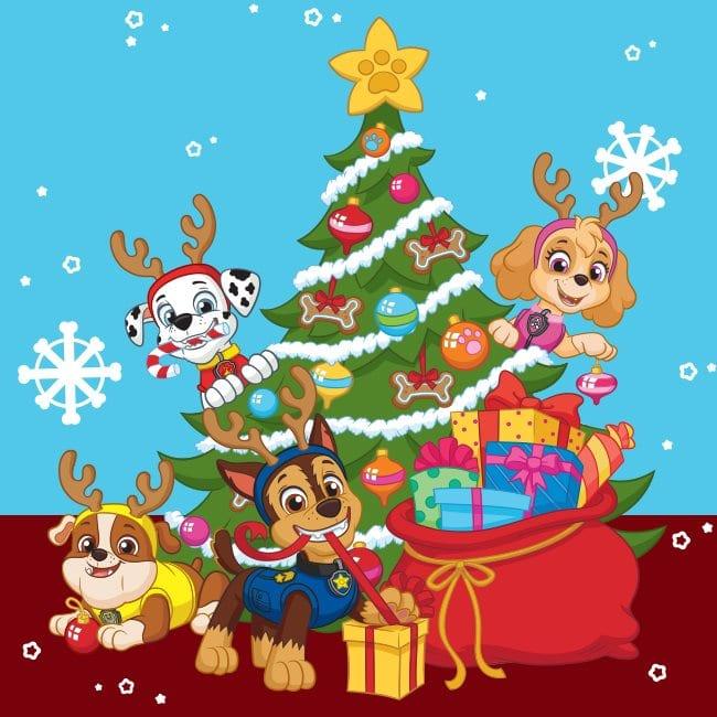 Programação de Natal do Nick Jr